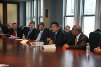 Bill meets with U.S. Secretary of Commerce Gary Locke and Massachusetts fisheries officials regarding Federal fisheries policyBill meets with U.S. Secretary of Commerce Gary Locke and Massachusetts fisheries officials regarding Federal fisheries policy