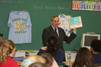 Guest Reader in Middleboro